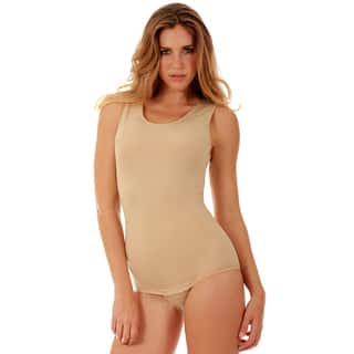 Instantfigure Shapewear Tank Bodysuit with Snap Crotch|https://ak1.ostkcdn.com/images/products/11485705/P18439838.jpg?impolicy=medium