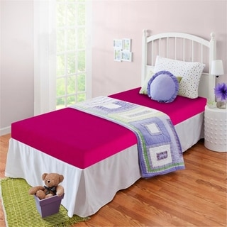Priage Fuchsia Youth 5-inch Twin-size Memory Foam Mattress