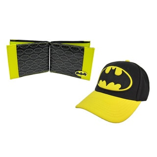 Batman Logo Hat and Wallet Combo