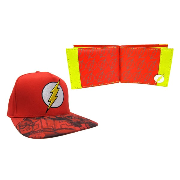 3a8f851a Shop Flash Hat and Wallet Combo - Free Shipping On Orders Over $45 -  Overstock - 11485910