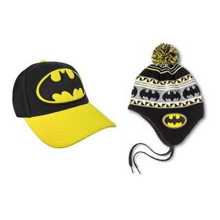2pc Batman Hat and Beanie Combo