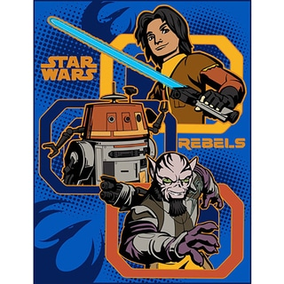 Star Wars Rebels Plush Throw