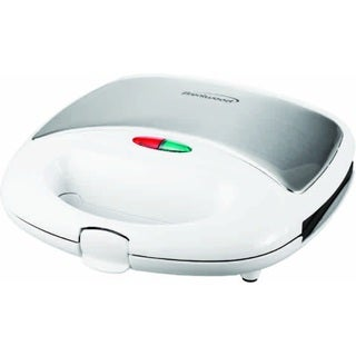 Brentwood TS-242 White Stainless Steel Waffle Maker