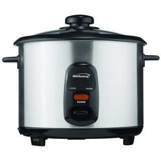 Brentwood TS-10 Stainless Steel 5-cup Rice Cooker