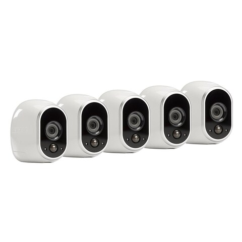 Arlo Smart Security System with 5 Arlo Cameras (VMS3530)