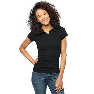 Women's Basic Fitted Casual Polo Shirt|https://ak1.ostkcdn.com/images/products/11486607/P18440515.jpg?impolicy=medium