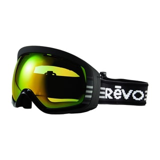 Revo Moog 01 PGN Black Plastic Sport Snow Goggles