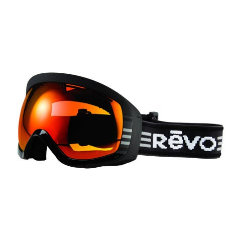 Revo Moog 01 POG Black Plastic Sport Snow Goggles