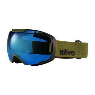 Revo Echo 08 PBL Military Green Plastic Sport Snow Goggles