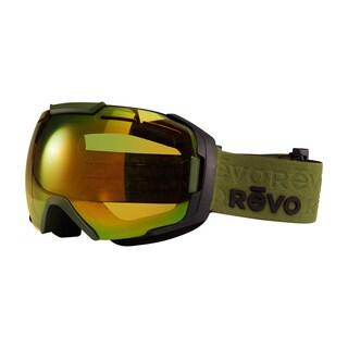 Revo Echo 08 PGN Military Green Plastic Sport Snow Goggles