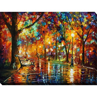 Leonid Afremov 'Colorful Night' Giclee Print Canvas Wall Art