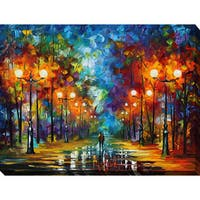 Leonid Afremov 'End Of Winter' Giclee Print Canvas Wall Art