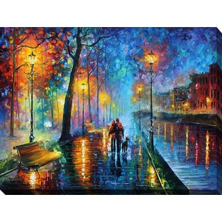Leonid Afremov 'Melody Of The Night' Giclee Print Canvas Wall Art