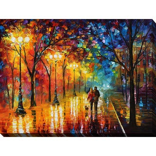 Leonid Afremov 'Night Happines' Giclee Print Canvas Wall Art