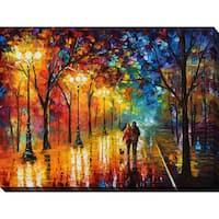 Leonid Afremov 'Night Happines' Giclee Print Canvas Wall Art