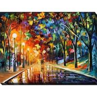 Leonid Afremov 'Romantic Evening 1' Giclee Print Canvas Wall Art