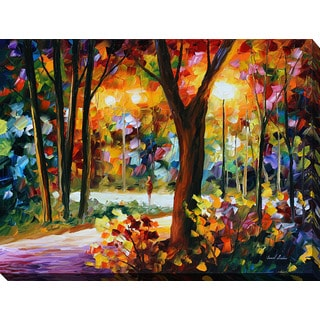 Leonid Afremov 'The Soul Of Night' Giclee Print Canvas Wall Art