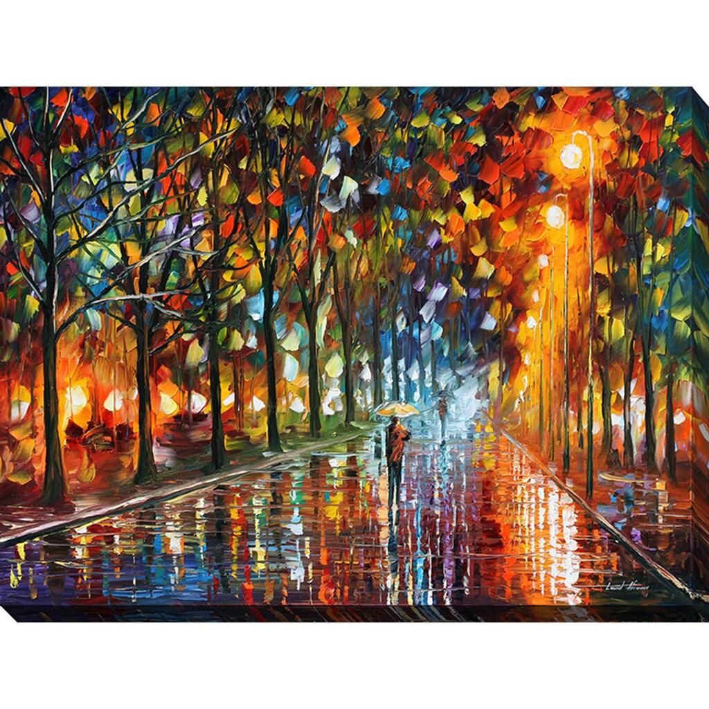 Leonid Afremov Unreal Senses Giclee Print Canvas Wall Art Overstock 11486677