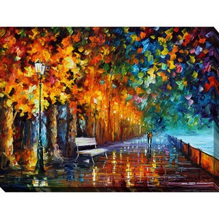 Leonid Afremov 'Way to Home 2' Giclee Print Canvas Wall Art