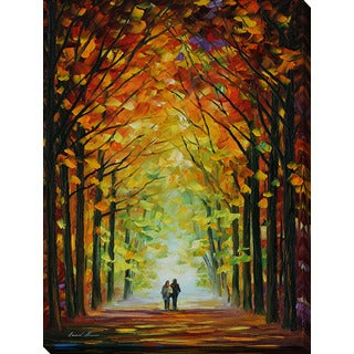 Leonid Afremov 'Altar Of Trees' Giclee Print Canvas Wall Art