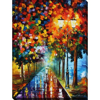 Leonid Afremov 'Burst Of Colors' Giclee Print Canvas Wall Art