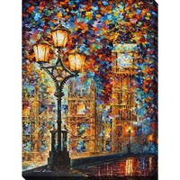 Leonid Afremov 'London Dream' Giclee Print Canvas Wall Art