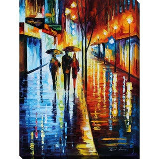 Leonid Afremov 'Invitation 2' Giclee Print Canvas Wall Art