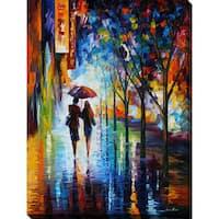 Leonid Afremov 'Invitation 3' Giclee Print Canvas Wall Art
