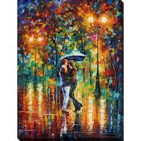 Leonid Afremov 'Rainy Dance' Giclee Print Canvas Wall Art