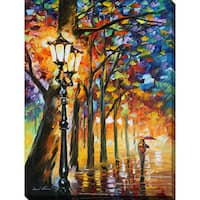Leonid Afremov 'The Soul Of The Park' Giclee Print Canvas Wall Art