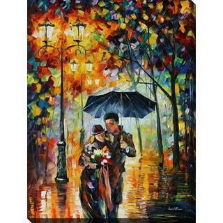 Leonid Afremov 'Warm Night' Giclee Print Canvas Wall Art