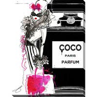BY Jodi 'Go Coco' Giclee Print Canvas Wall Art