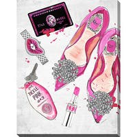 BY Jodi 'Night At The Tickle Pink 2' Giclee Print Canvas Wall Art