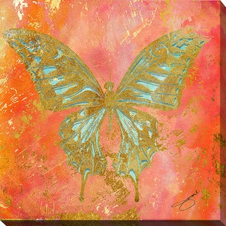 BY Jodi 'Butterfly' Giclee Print Canvas Wall Art