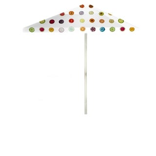 Best of Times Yokibug Fruit 8-foot Patio Square Umbrella