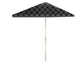Best of Times Lewis Lattice 8-foot Patio Square Umbrella