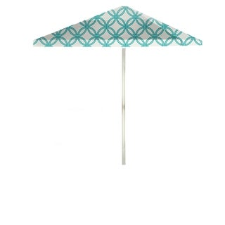 Best of Times Eternity Circles 8-foot Patio Square Umbrella