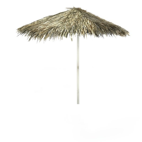 Best Of Times Tiki Palapa 8 Foot Patio Square Umbrella