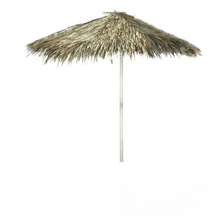Best of Times Tiki Palapa 8-foot Patio Square Umbrella