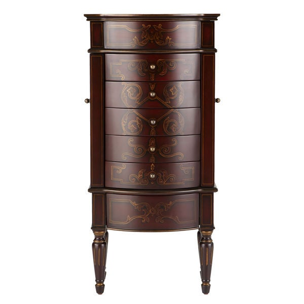 Bombay Outlet Rouge Jewelry Armoire