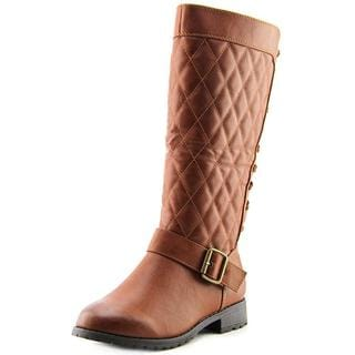 a.x.n.y. Women's 'Graham-19' Brown Faux Leather Boots