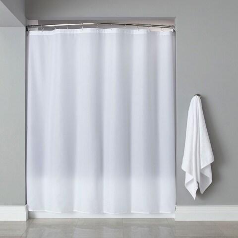 "Extra Long Heavyweight Mildew-Resistant Vinyl Shower Curtain Liner - 72"" x 84"""