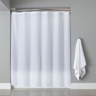 Extra Long Heavyweight Mildew-Resistant Vinyl Shower Curtain Liner