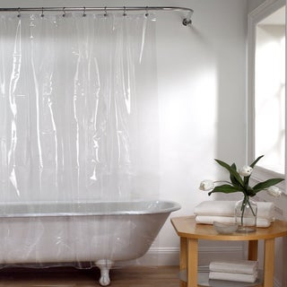 72-inch Mildew-Resistant 10-Gauge Vinyl Shower Curtain Liner