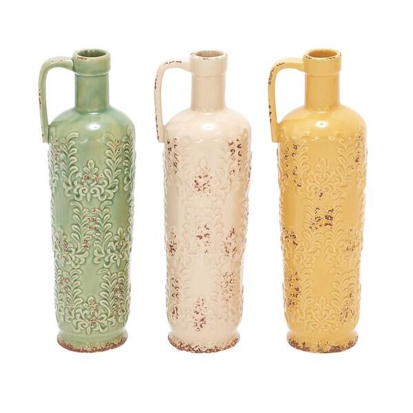 Ceramic Lekythos Vase
