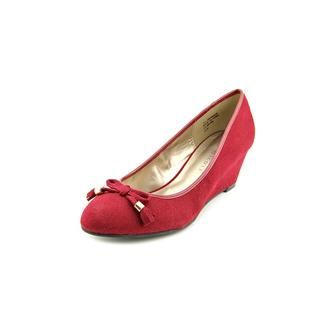 Karen Scott Women's 'Brynn' Red Faux Suede Dress Shoes