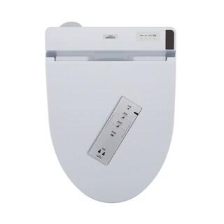 Toto C200 WASHLET+ Ready Electronic Bidet Toilet Seat with PREMIST, Elongated, Cotton White (SW2044T20#01)