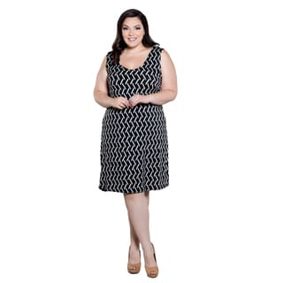 Sealed with a Kiss Women's Plus Size Michelle Tank Dress