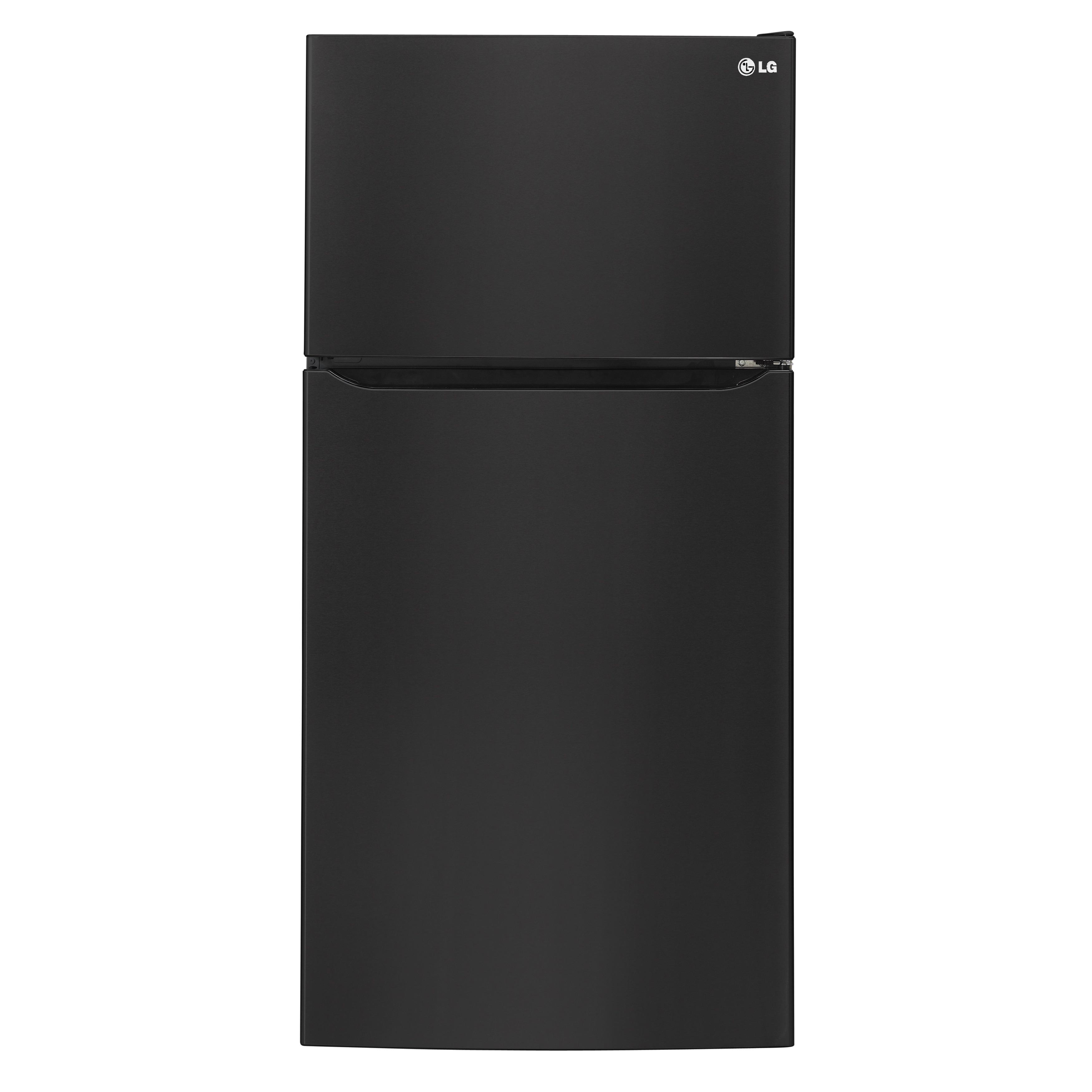 LG 33-inch Top-Freezer Refrigerator (Black) (Stainless St...