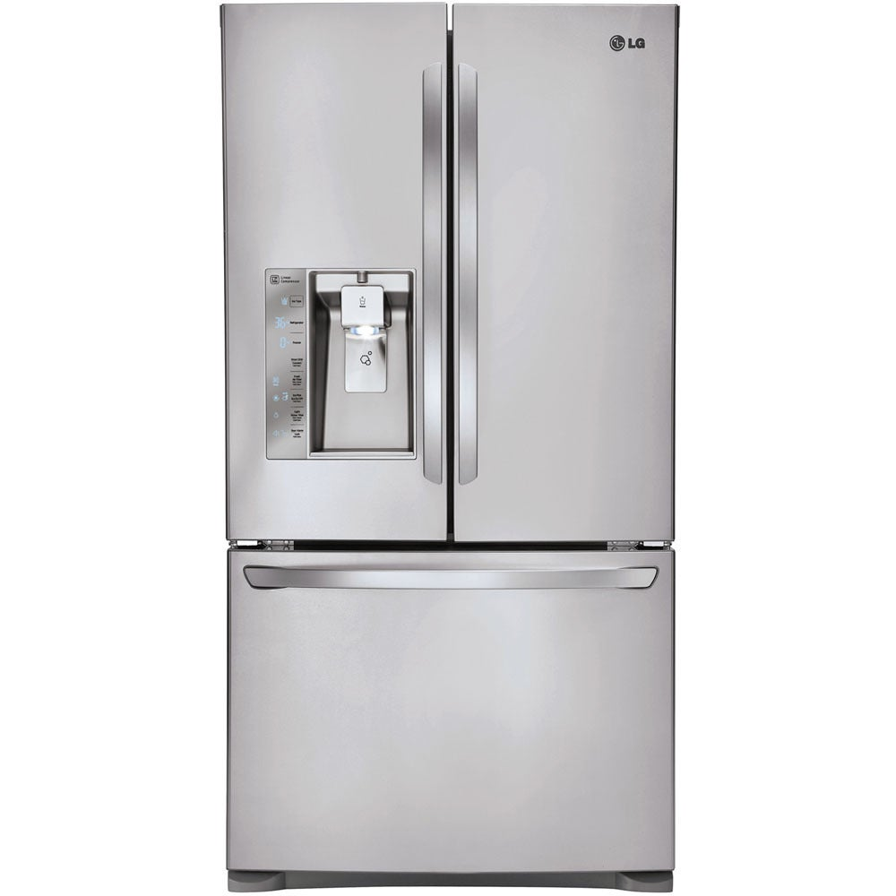 LG 36-inch 24-cubic-foot Counter Depth French Door Refrig...